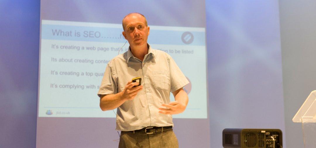 Digital Marketing Trainer Jon Tromans