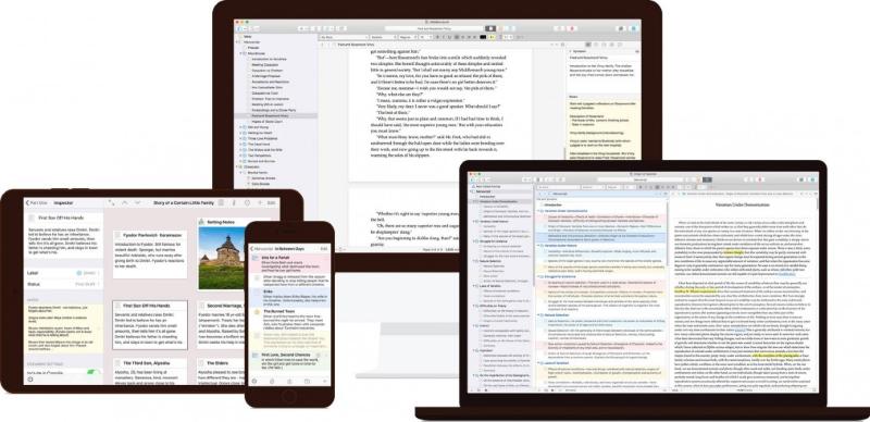 Scrivener Apps
