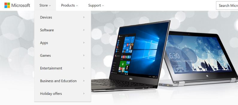 Microsoft Menu