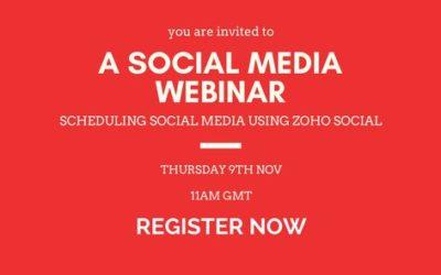 Webinar: Learn Social Media Scheduling