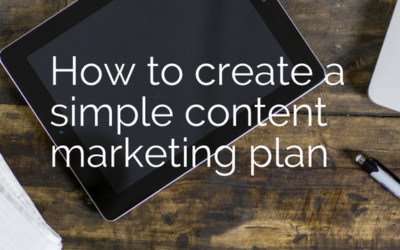 How To CreateA Simple Content Marketing Plan + Bonus Template