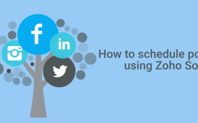 How To Schedule Social Media Posts Using Zoho Social