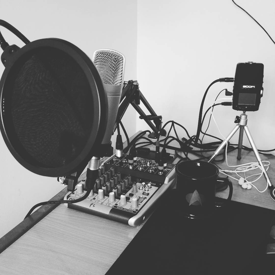 Office Podcasting Set Up