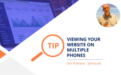 How to view your website on different mobile phones